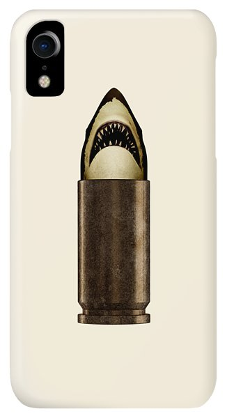 iPhone XR Case - Shell Shark by Nicholas Ely