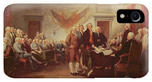 20th iPhone XR Case - Signing The Declaration Of Independence by John Trumbull
