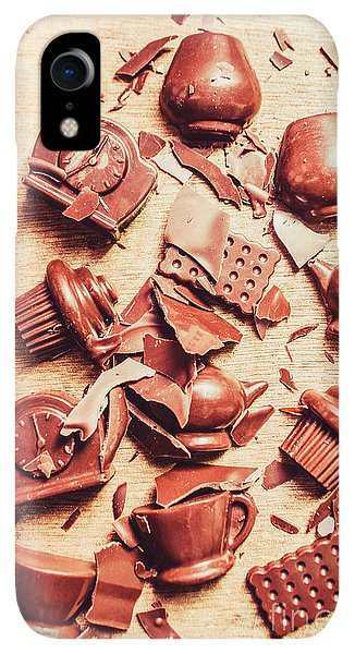 Kettles iPhone XR Case - Smashing Chocolate Fondue Party by Jorgo Photography - Wall Art Gallery
