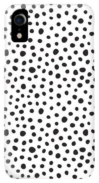 Print iPhone XR Case - Spots by Rachel Follett