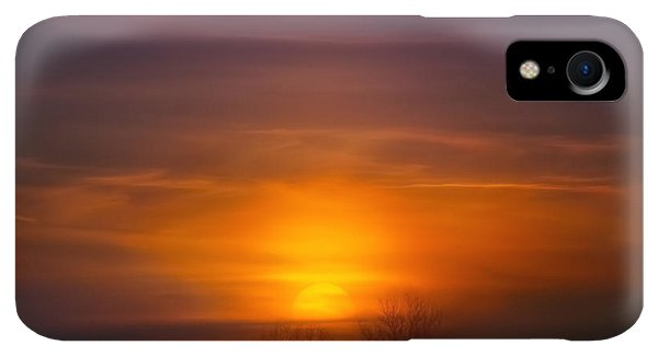 Kettles iPhone XR Case - Sunset Over Scuppernong Springs by Scott Norris