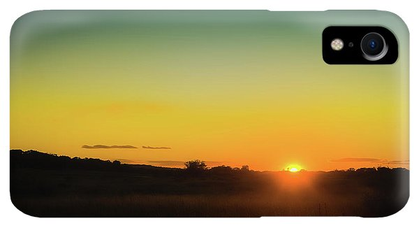 Kettles iPhone XR Case - Sunset Over The Prairie by Scott Norris