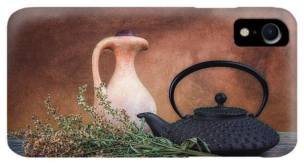 Kettles iPhone XR Case - Teapot With Pitcher Still Life by Tom Mc Nemar