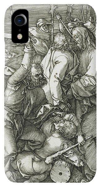 Albrecht Durer iPhone XR Case - The Betrayal Of Christ by Albrecht Durer