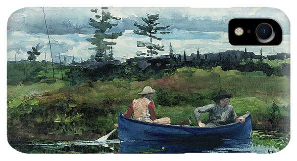 20th iPhone XR Case - The Blue Boat by Winslow Homer