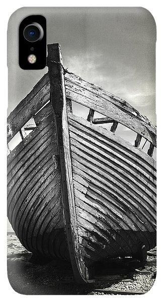 Boats iPhone XR Case - The Clinker by Mark Rogan