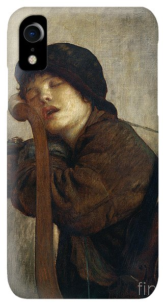 20th iPhone XR Case - The Little Violinist Sleeping by Antoine Auguste Ernest Hebert