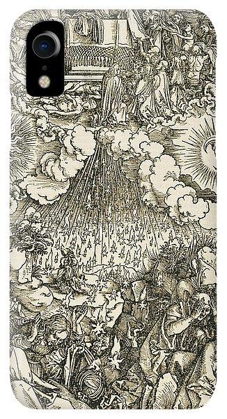 Albrecht Durer iPhone XR Case - The Opening Of The Sixth Seal  by Albrecht Durer