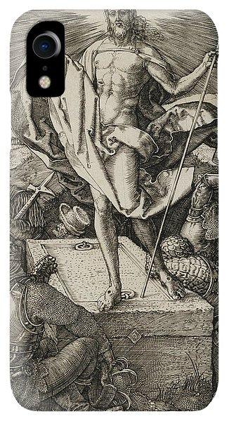 Albrecht Durer iPhone XR Case - The Resurrection by Albrecht Durer