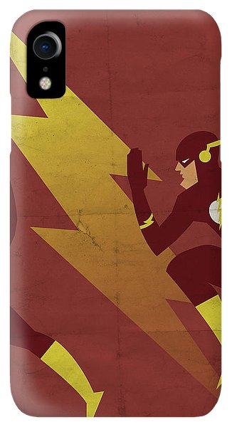 Scarlet iPhone XR Case - The Scarlet Speedster by Michael Myers