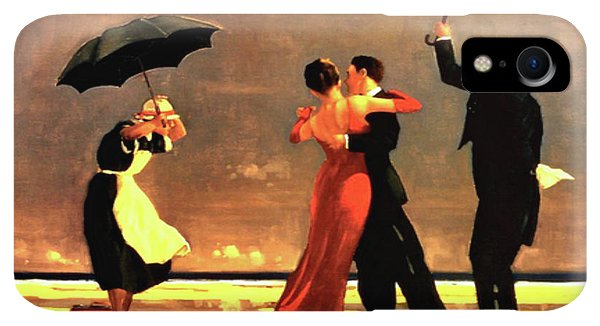 20th iPhone XR Case - The Singing Butler by Jack Vettriano