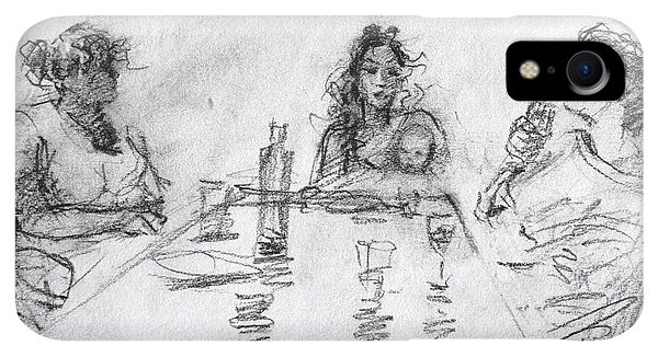 Bar iPhone XR Case - Three Generations  by Ylli Haruni