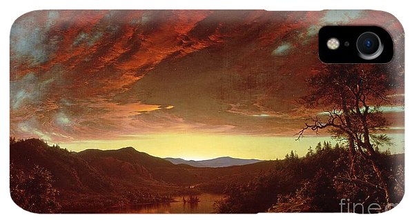 20th iPhone XR Case - Twilight In The Wilderness by Frederic Edwin Church