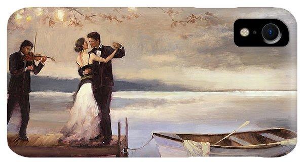 Boats iPhone XR Case - Twilight Romance by Steve Henderson