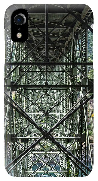Whidbey iPhone XR Case - Under Deception Pass Bridge by Pelo Blanco Photo