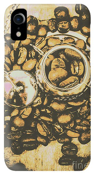 Kettles iPhone XR Case - Vintage Cafe Artwork by Jorgo Photography - Wall Art Gallery