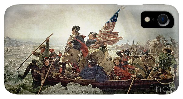 20th iPhone XR Case - Washington Crossing The Delaware River by Emanuel Gottlieb Leutze