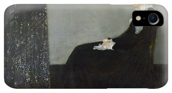 20th iPhone XR Case - Whistlers Mother by James Abbott McNeill Whistler