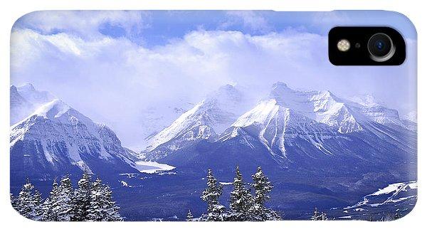 Rocky Mountain iPhone XR Case - Winter Mountains by Elena Elisseeva