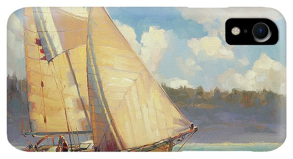Whidbey iPhone XR Case - Zephyr by Steve Henderson