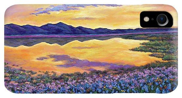 Rocky Mountain iPhone XR Case - Bluebonnet Rhapsody by Johnathan Harris