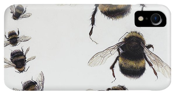 Boats iPhone XR Case - Bombus by Odile Kidd