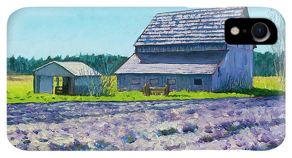 Whidbey iPhone XR Case - Boyer Barn by Stacey Neumiller