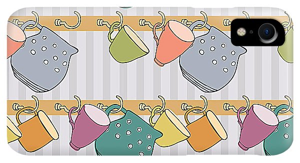 Kettles iPhone XR Case - Cup Background by Nenilkime