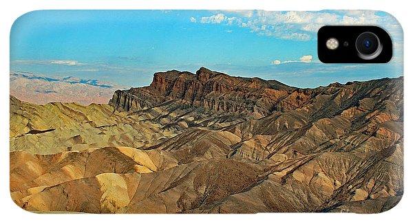 Rocky Mountain iPhone XR Case - Death Valley, Ca by Edd Lange