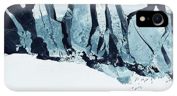 Rocky Mountain iPhone XR Case - Glaciers Of Greenland. Some Graphics by Strahil Dimitrov