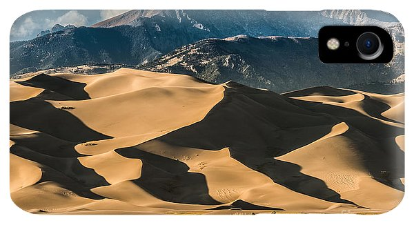 Rocky Mountain iPhone XR Case - Great Sand Dunes National Park Colorado by Kris Wiktor