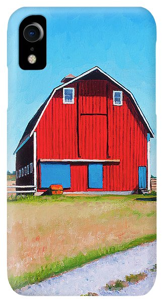 Whidbey iPhone XR Case - Jenne Farm by Stacey Neumiller
