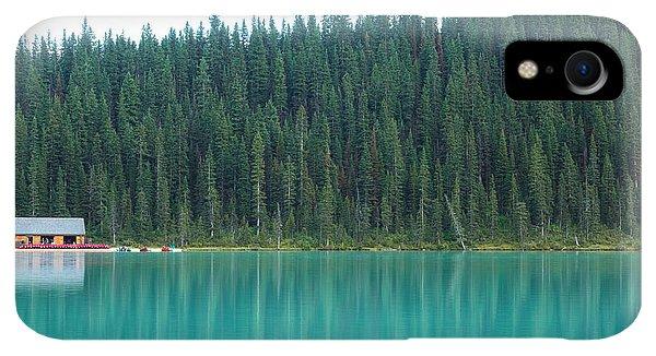 Rocky Mountain iPhone XR Case - Landscape Of Canadalandscape Of Canada by Lu Wenjuan
