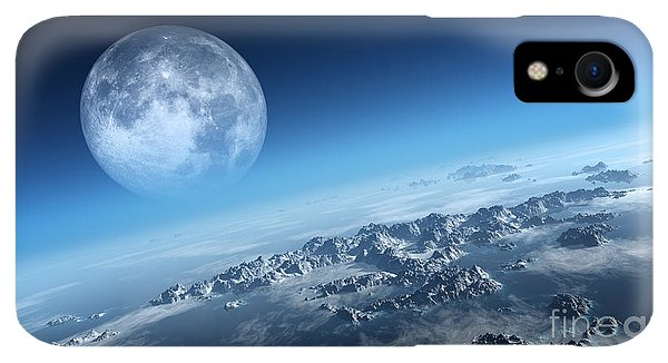 Rocky Mountain iPhone XR Case - Planet Earth Icy Ocean And Rocky by Johan Swanepoel