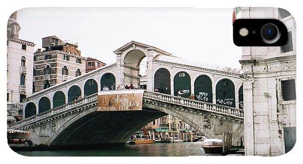 Dick Goodman iPhone XR Case - The Rialto Bridge  by Dick Goodman