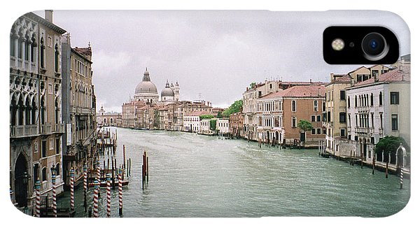 Dick Goodman iPhone XR Case - Venice Grand Canal by Dick Goodman