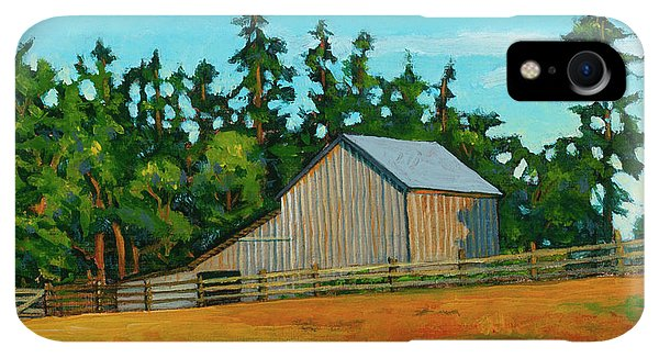 Whidbey iPhone XR Case - West Beach Barn by Stacey Neumiller