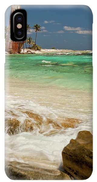 Belize iPhone XS Max Case - View Of Lighthouse On Half Moon Caye by Michele Benoy Westmorland