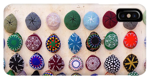 Knit Hat iPhone XS Max Case - Morocco, Essaouira by Emily Wilson