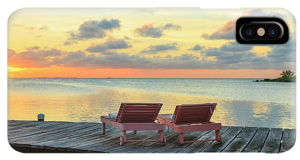 Belize iPhone XS Max Case - Saint Georges Caye Resort, Belize (pr by Stuart Westmorland