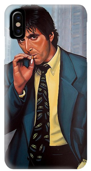 The iPhone XS Max Case - Al Pacino 2 by Paul Meijering