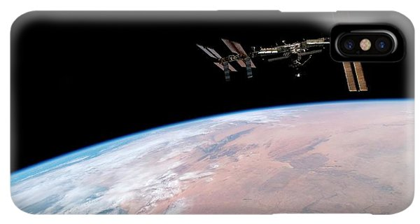 International Space Station iPhone XS Max Case - International Space Station by Nasa/science Photo Library