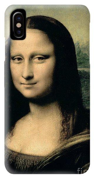 The iPhone XS Max Case - Mona Lisa by Leonardo Da Vinci