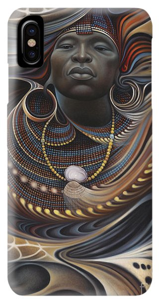 Africa iPhone XS Max Case - African Spirits I by Ricardo Chavez-Mendez