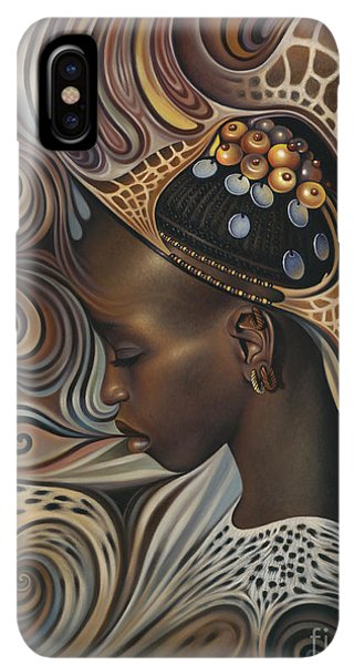 Africa iPhone XS Max Case - African Spirits II by Ricardo Chavez-Mendez