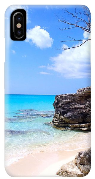 Scuba Diving iPhone XS Max Case - Bimini Beach by Carey Chen