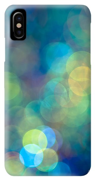 Abstract iPhone XS Max Case - Blue Of The Night by Jan Bickerton