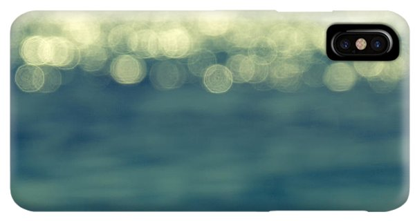 Abstract iPhone XS Max Case - Blurred Light by Stelios Kleanthous