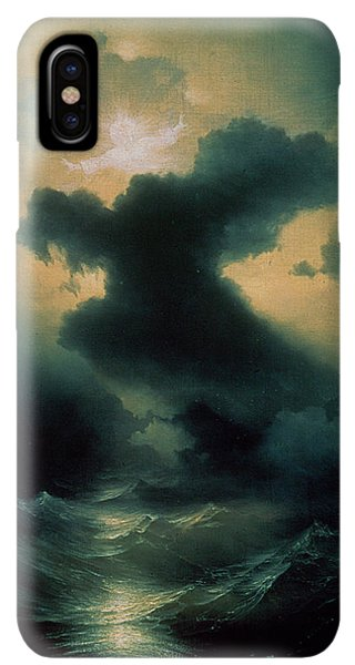 The Beginning iPhone XS Max Case - Chaos The Creation by Ivan Konstantinovich Aivazovsky