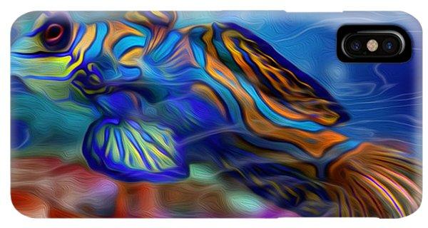 Scuba Diving iPhone XS Max Case - Colors Below 2 by Jack Zulli
